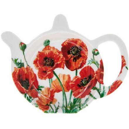Poppy Field Tea Bag Holder